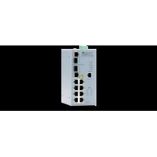 IFS802SP/POE(W) - 10 Port Fast Ethernet Layer 2 PoE Industrial Switch